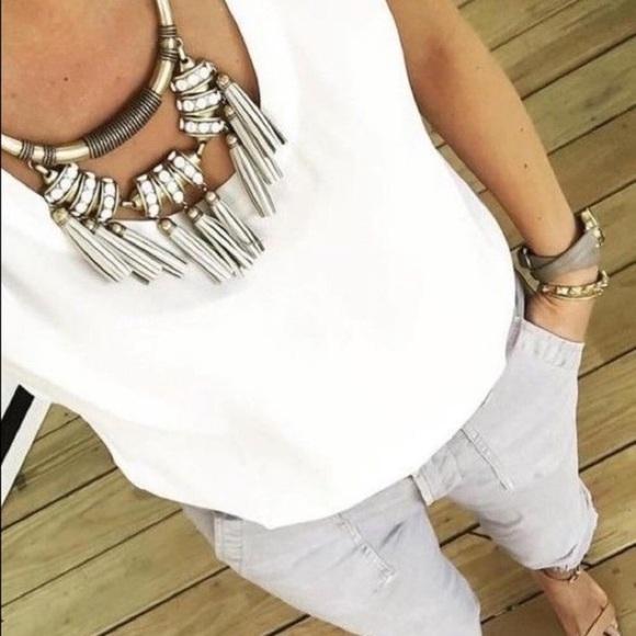 Stella & Dot Jewelry - Tribal tassel necklace